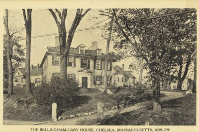 The Bellingham-Cary House, Chelsea, Massachusetts, 1659-1791
