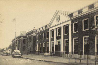 Headquarters and John Adams Hospital ~ Chelsea,Mass
