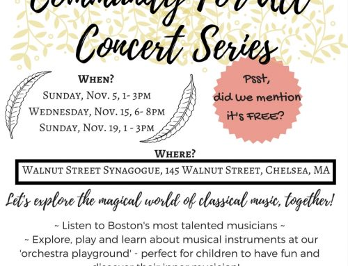 Community for All Concert Series at the Museum at the Walnut Street Synagogue