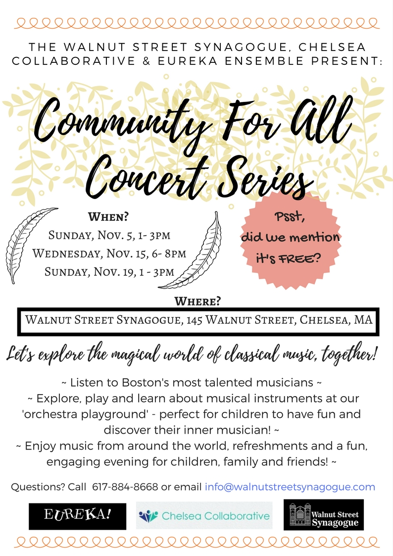 Community for All Concert SeriesFlyer